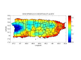 Map Puerto Rico Water And Energy Balance Results For Puerto Rico 1 Km Spatial