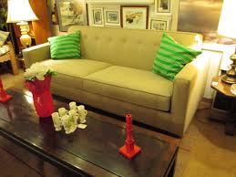 Modern Sofa Seattle by Biltwell Taupe Tufted Modern Sofa U2013 1200 U2013 Ballard Consignment