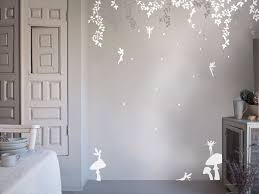 Wallpaper Decal Theme Fairy Door Wall Stickers Fairytale Home Decor Bedroom Inspired