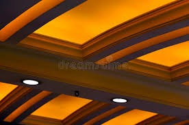 Lighted Ceiling Lighted Ceiling Design Stock Photo Image Of Home Apartment