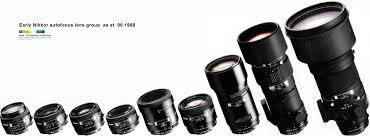 verson history of nikon af nikkor 35mm f 2 0 wideangle lenses