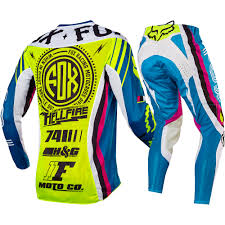 fox racing motocross fox racing 2017 mx new 360 rohr teal flo yellow jersey pants