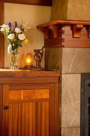 mission style fireplace binhminh decoration