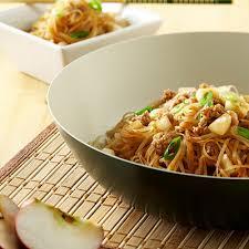 cuisiner vermicelle de riz vermicelles de riz au porc et aux pommes metro