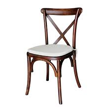 X Back Bistro Chair Specialty Chairs Modern Furniture Floral Works Events