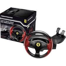 ferrari steering wheel steering wheel and pedals thrustmaster ferrari red legend edition