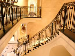 iron stair balusters beautifying house with iron stair railing