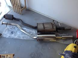 porsche 944 exhaust system replaced muffler of my s2 type rennlist porsche