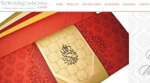 Indian Wedding Cards Online Wedding Invitations Categories Wedding Directory Pro