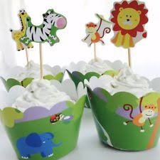 safari cake toppers jungle animal cake topper ebay