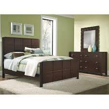 5 piece queen bedroom set dark brown value city furniture in
