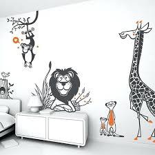 stickers savane chambre bébé stickers chambre enfant deco enfant savane chambre a louer montreal