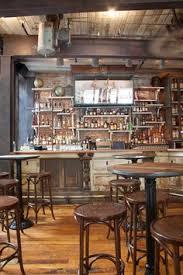 industrial style pub table bar photos bar areas iron table and hard wood