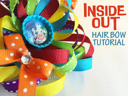 the290ss inside out hair bow tutorial collab tutorial with