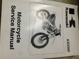 2009 kawasaki kx250f kx 250 f service repair shop workshop manual