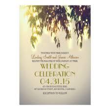 Tree Wedding Invitations Willow Tree Wedding Invitations U0026 Announcements Zazzle