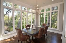 Dining Room Additions With Lots Of Windows Sunroom Dining Design - Dining room addition
