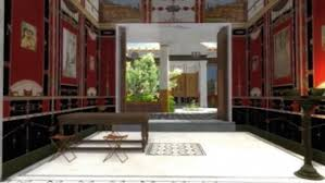 beautiful house from pompeii reconstructed with 3d technology