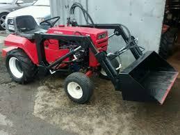 wheel horse with front loader u2022 1 500 00 picclick uk