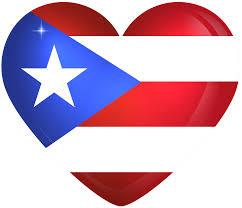 Puertorican Flag Puerto Rico Large Heart Flag Gallery Yopriceville High