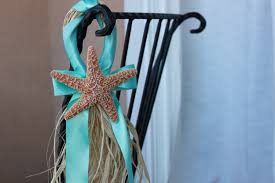 starfish decorations wedding chair decorations wedding rentals bamboo arches and