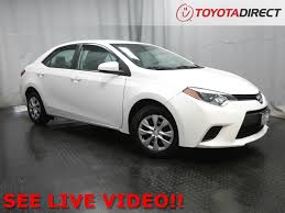 toyota corolla truck used cars toyota direct near westerville oh
