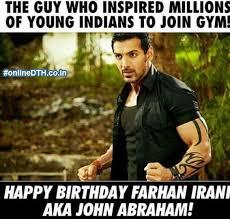 Happy Birthday Gym Meme - john abraham s birthday celebration happybday to page 5
