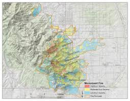 Wildfire Map National by Post Monument Fire Floods And Debris Flows In The Huachuca