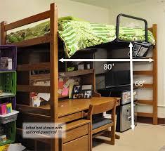 loft bed college dorm loft bed ushareimg bedding decor