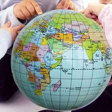 globe earth maps 38cm world globe earth map teaching geography map