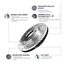 toyota vs lexus brake pads brake rotors front eline drilled slotted toyota sienna 2004