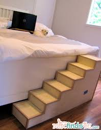 doggie steps for bed diy pet stairs simple steps you can make yourself pet stairs