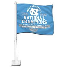 North Carolina Flag History Johnny T Shirt North Carolina Tar Heels Champ Years Car Flag