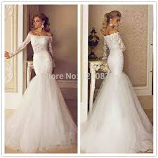 fishtail wedding dress white lace fishtail wedding dress weddings234