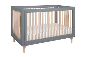 Grey Convertible Cribs Babyletto Lolly 3 In 1 Convertible Crib Grey And N