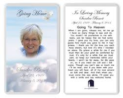 prayer cards for funeral best prayer cards photo memorial cards laminated photo cards
