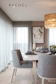 modern curtains for dining room modern design ideas