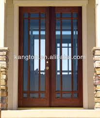 wooden glass door commercial double wooden glass doors buy wooden door commercial