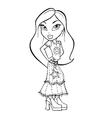 bratz coloring pages bratz coloring bratz printable 11950