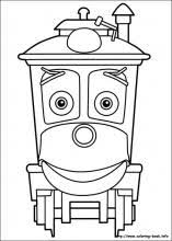 chuggington coloring pages coloring book