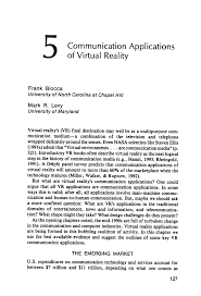 Virtual Kill House Edit Online by Communication Applications Of Virtual Reality Pdf Download Available