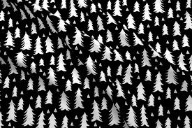 trees black and white forest woodland tree home decor fir tree fabric preview fq 0 l