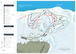 Blue Ridge Mountains Map Piste Map Cairngorm Mountain