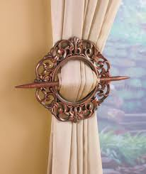 tuscan curtain tie backs bedroom living dining room home decor