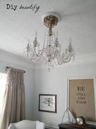 Burlap Chandelier Cover Your Chandelier Cords With Burlap Diy Beautify