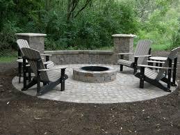 Designers Patio Home Design Square Pit Patio Ideas Concrete Interior