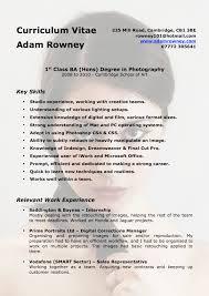 Photographer Resumes Proffesional Framworks 2 Cvs Examplies