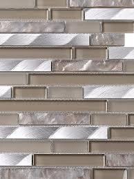 Free Backsplash Samples by Beige Silver Glass Metal Backsplash Tile Backsplash Com