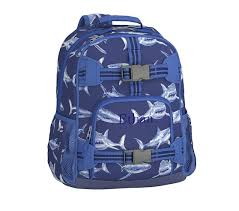 Pottery Barn Mackenzie Backpack Review Mackenzie Navy Shark Backpack Pottery Barn Kids Backpacks