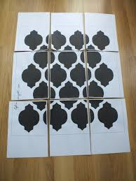 diy wall stencil tutorial template life in eight